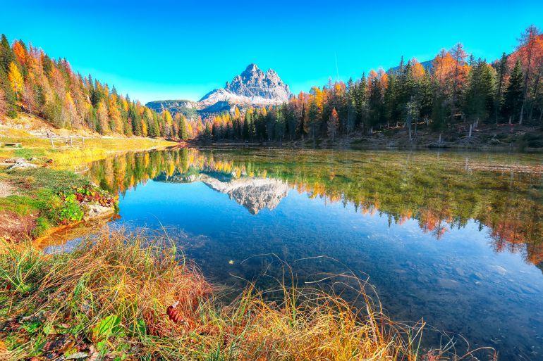 Vakantie Antorno meer Dolomitische Alpen provincie Belluno Italië